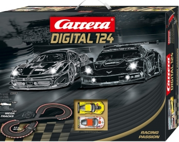 Komplettset RACING PASSION, Digital124, Carrera 20023617, 23617
