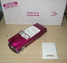 1949 Ford Lead Sled, Purple w/ White Roof, 1/24 Diecast, Danbury Mint DM1044