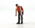 Figur Mechaniker Jean, 1/32, LeMans Miniatures 132027