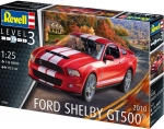 2010 Ford Shelby GT 500, 1/25, Revell DE 7044