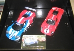 Legends Le Mans 1967 – 50 Years of Ford Twin Pack - Limited Edition, Scalextric C3893A