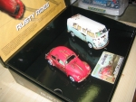 Legends Rusty Rides Volkswagen Beetle & T1B Camper Van - Limited Edition, 1/32, Scalextric C3966A