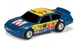 Micro - US Stock Car #17, blue, 1/64 Scalextric Micro G2157