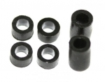 Plastic spacers 2,5 and 5,7 mm (4+2)