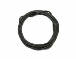 Electric PVC cable BLACK, 1,2mm, SLPL107020