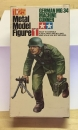 German MG34 Machine Gunner, 1/25 Metal Model Figure #1, Tamiya M F001